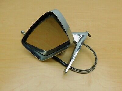 Remote Door Mirror 1967 1968 Ford Mercury Drivers Chrome Original Oem Rd18-1W3