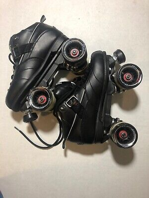 Sure-Grip Rock GT-50 Black Roller Skates Mens Size 7