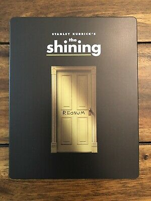 The Shining Blu Ray Steelbook Excellent Condition With Protecter