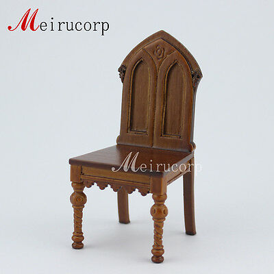Fine 1/12 scale miniature furniture&handcrafted Classical chair for dollhouse