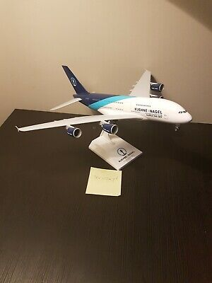 Model Maquette Kuehne + Nagel Airbus A380 1/200 - New In Box