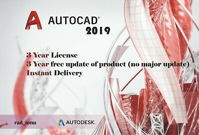 AUTODESK AUTOCAD 2019 For Windows and Mac | 3 Year Licence