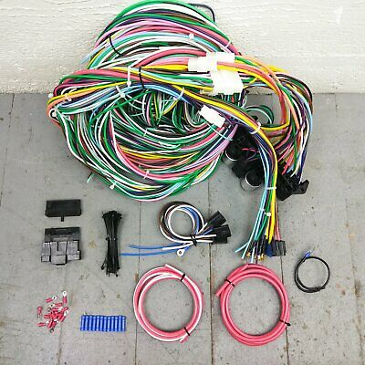1965 - 1969 buick riviera gransport wire harness upgrade kit fits painless  new