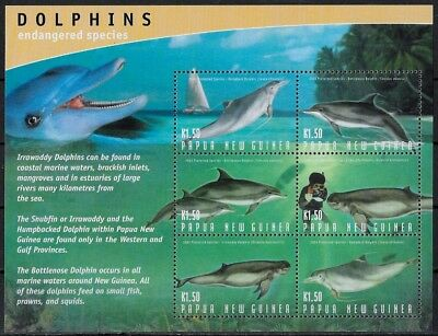 Papouasie-Nlle Guinee - Dauphins - N° 951 A 956 Et 957 A 962 - Neuf**