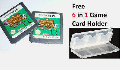 Animal Crossing Wild World New And Sealed DS DSI DSL DSIXL 3DS Game UK STOCK