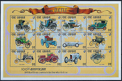 Gambie - Automobiles - N° 1364 A 1375 Et 1382 A 1393 - Neuf**