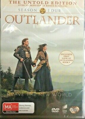 Outlander Dvd Fourth Series Season Four 2019 Genuine Release Region 4 New Sealed