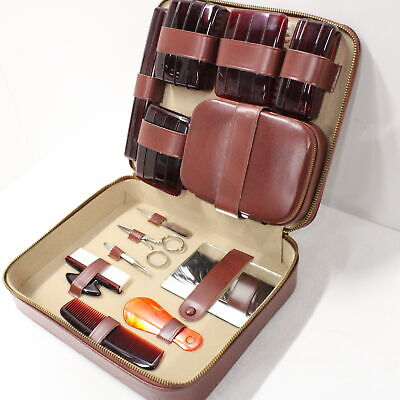 Faux Leather Vanity Case with Accessories # 209