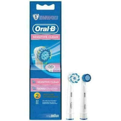 Oral-B Opzetborstels Sensitive clean Sensi UltraThin 6 X 2 = 12 stuks
