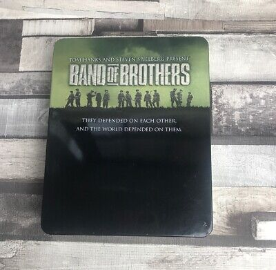 Band of Brothers Blu Ray Complete Box Set 6 Disc Region 2 Metal Tin Free Postage