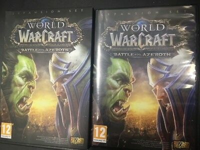 WORLD OF WARCRAFT Battle For Azeroth Horde & Alliance Mark