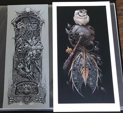 Aaron Horkey The Snare Art Print W/ Grey CoA Sold Out Vacvvm Rare