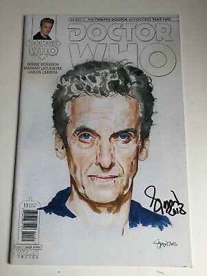 Doctor Who - Comic #000 Signed By Simon Myers