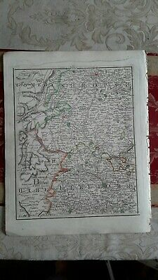 1794 -  John Cary original map 31 Shropshire Herefordshire