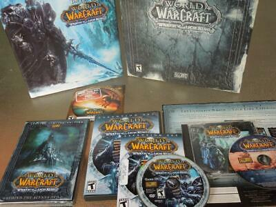 World of Warcraft: Wrath of the Lich King Collectors Edition! Incomplete PC Game