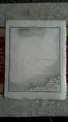 1794 -  John Cary original map 29 cardigan bay Wales