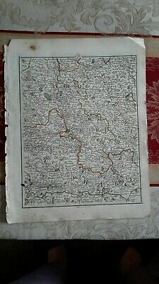1794 -  John Cary original map 24 Buckinghamshire,  Berkshire,  reading