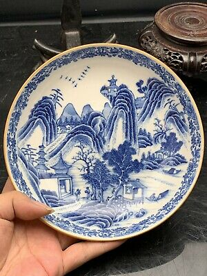 Nice Antique Chinese Porcelain Blue And White Sauce 18th Century