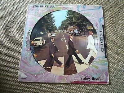 Extremely Rare Original PICTURE DISC - THE BEATLES - ABBEY ROAD - VINYL LP