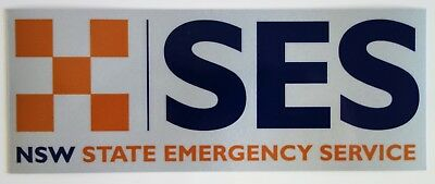 Nsw Ses State Emergency Service Reflective Sticker