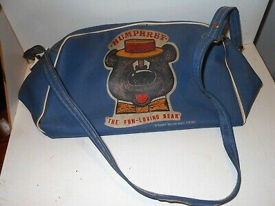 Vintage retro Humphrey The fun-loving Bear school bag lunch box