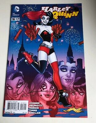 Harlry Quinn - Comic #016 Signed By Chad Hardin