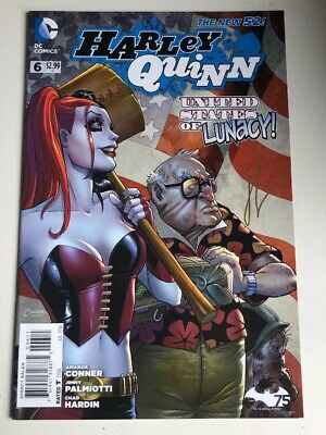 Harlry Quinn - Comic #006 Signed By Chad Hardin