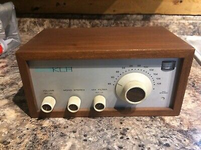 KLH Model 18 Tuner Excellent Reception Great Condition