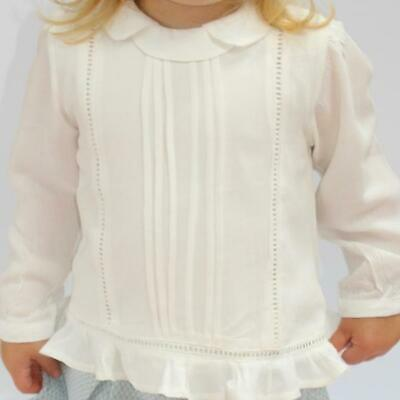 Newness Spanish Frill Blouse - Age 4 to Age 7