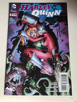 Harley Quinn The New 52 Comic #007 - Signed By Chad Hardin