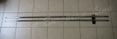 Mercedes Benz W109, rocker panel moulding set with clips & rubber trim. New.