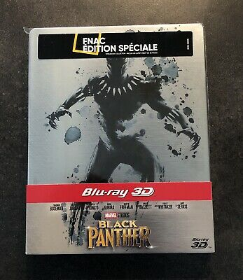 Blu-ray 3D-2D Steelbook Black Panther