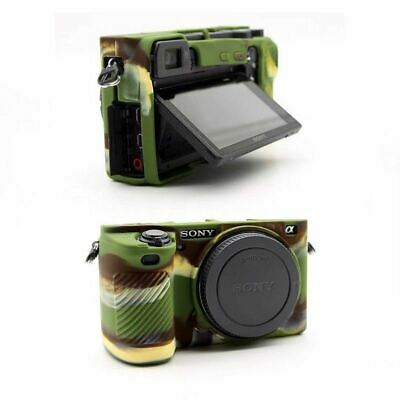 Soft Silicone Camera Body Protective Body Cover Case For Sony A6500 A6400 A6300