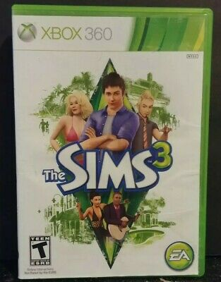 The Sims 3 (Microsoft Xbox 360, 2010) pre-owned