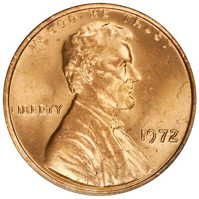 1972 Lincoln Cent- Doubled Die Obverse FS-105 DDO-005 ANACS MS 63 RED