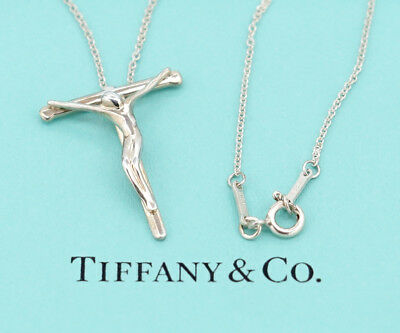 018eaf9a1 TIFFANY&Co Medium size Crucifix Cross Necklace 16