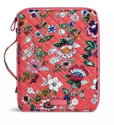 NWT Vera Bradley Tablet Tamer Organizer in Coral Floral Ships Fast