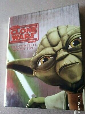 Star Wars -The Clone Wars Staffel 2 Bluray-Sammlerstück mit 68-seitigem Booklet!
