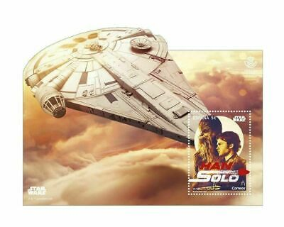 Stamps Spain Star Wars Han Solo The Movie 2018!!