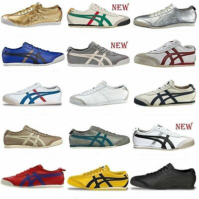 Shoes Asics Onitsuka Tiger Mexico 66 Sneaker 100% Leather Thl408 Mexico Vintage