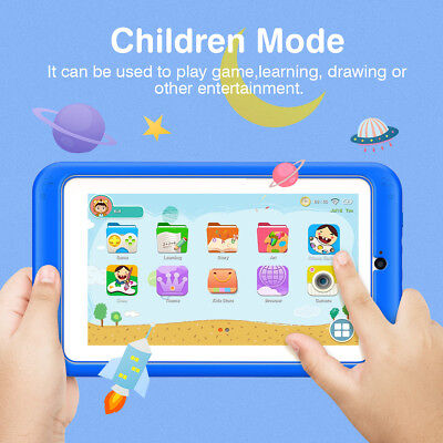 "7"" Inch Kids Tablet PC Android6.0 Quad-core 1+8gb Pad Dual Camera Wifi Bluetooth"