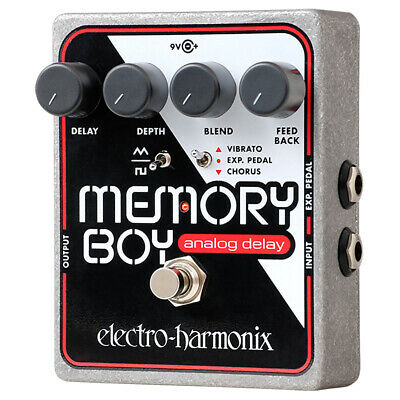 Electro-Harmonix Memory Boy Analog Delay Guitar Effects Pedal