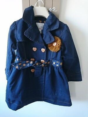 Next girl coat 3-4 years great condition