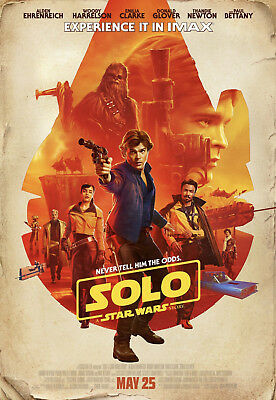 STAR WARS SOLO IMAX MOVIE POSTER AUTHENTIC 13 x 19 OFFICIALLY LICENSED PROMO HAN