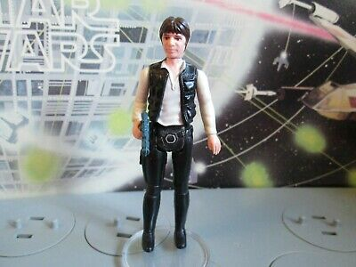 Vintage Star Wars Han Solo POCH/PBP, original complete, weapon own of figure