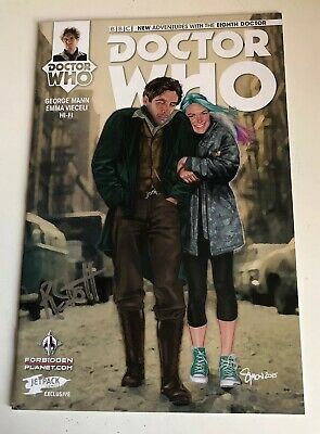 Doctor Who Eighth Doctor Idw Comic - Signed By Rachael Stott
