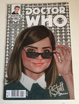 Doctor Who Twelfth Doctor Comic #005 - Signed By Rachael Stott