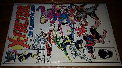 X-Factor #5 First Brief Of APOCALYPSE June 1986 HIGH GRADE NEAR MINT N/M