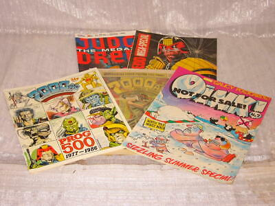 * Small job lot of vintage comics and 2 comic books - A-0407-DM-W15