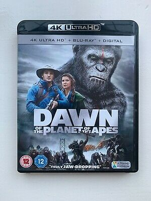 Dawn Of The Planet Of The Apes 4k Ultra Hd Blu Ray